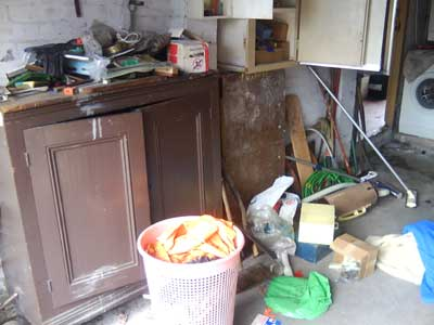 cluttered house clearing service