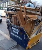 skip for clearance of house furniture