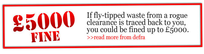 Fine for fly tipping