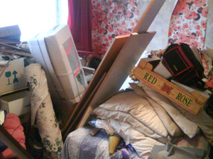 Cluttered house clearance Hebden Bridge