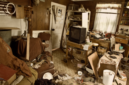 probate house clearance cluttered house
