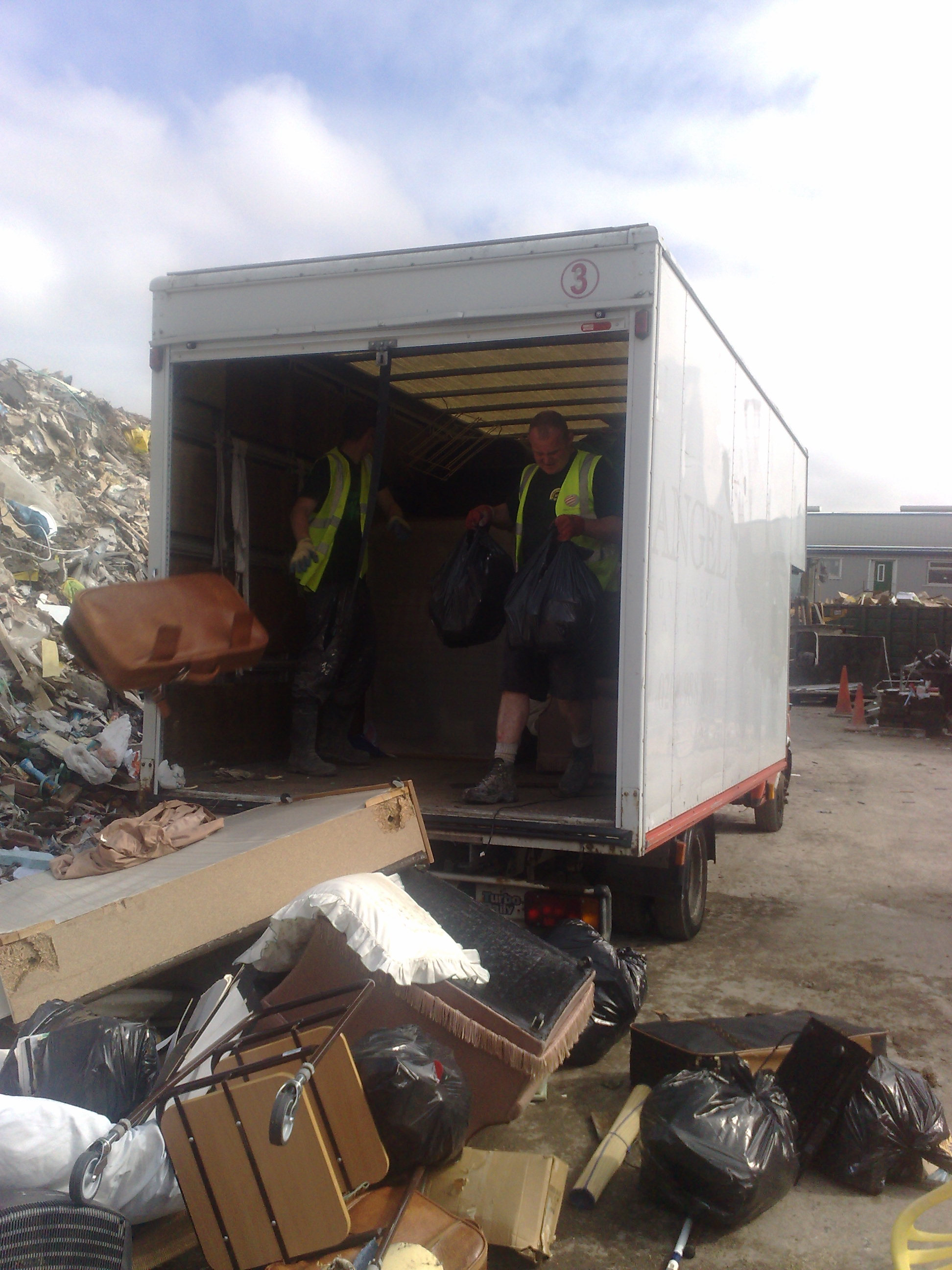 Waste disposal after house clearance in Tadcaster